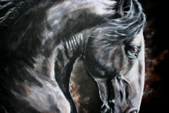 PRE horse painting